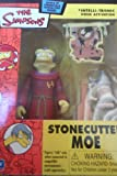 Simpsons World of Springfield Interactive Stonecutter Moe Mail-Away Figure by Playmates