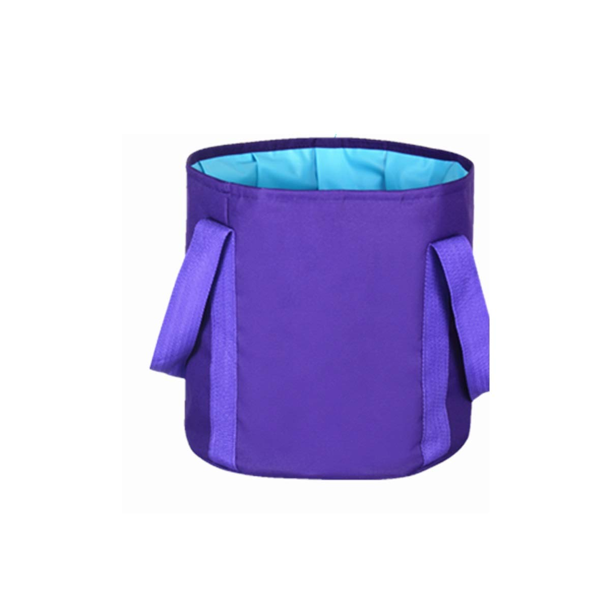 Muziwenju Portable Multifunctional Foldable Collapsible Outdoor Wash Basin Bucket for Camping Hiking Fishing Traveling with Carrying Pouch (Color : 25L-Style 2)
