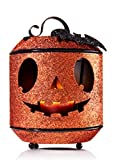 Bath Body Works Jack O Lantern Bat Mini Candle Holder Luminary Halloween Pumpkin