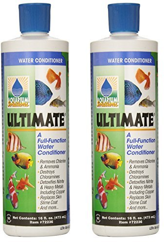(2 Pack) Hikari Usa Ultimate Cloram-X Water Conditioner for Aquarium, 16-Ounce Each