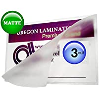 Matte 6x9 Hot Laminating Pouches [Pack of 100] 3 Mil 6 x 9