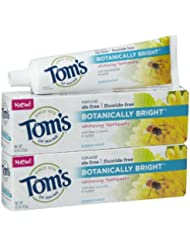 Tom's of Maine Botanically Bright, Peppermint - 4.7 oz - 2 pk