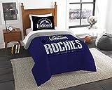 The Northwest Co mpany MLB Colorado Rockies Grandslam Twin 2-piece Comforter Set