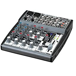 Behringer Xenyx 1002fx Premium 10-Input 2-Bus Mixer With Xenyx Mic Preamps, British Eqs And 24-Bit Multi-Fx Processor