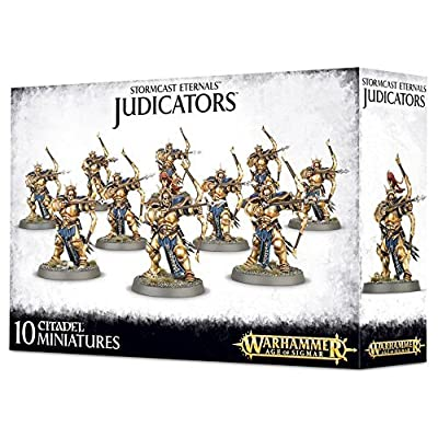 "Games Workshop 99120218013"" Stormcast Eternals Judicators: Toys & Games"