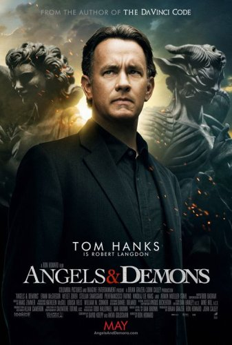 Angels & Demons Original Double Sided Movie Poster - Not A Reprint