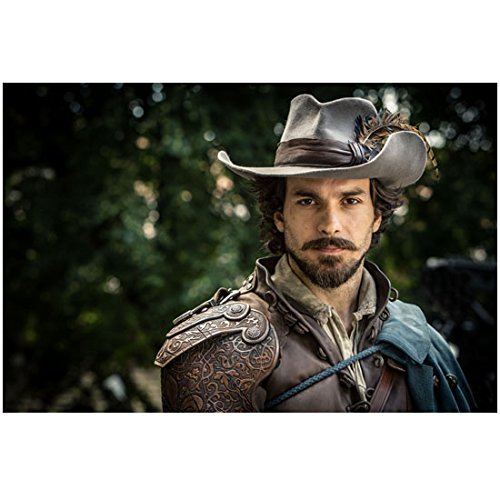 ago Cabrera as Aramis ahead of the Musketeers in hat and blue cape 8 x 10 Inch Photo (Santiago Cape)