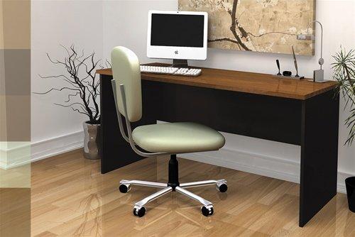 Premium Executive Computer Desk in Tuscany Brown & (Brown Tuscany Executive Desk)