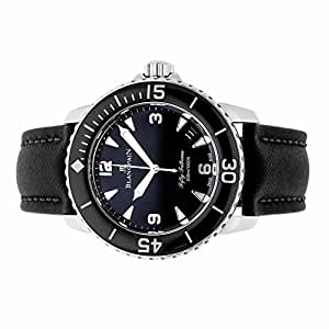 Blancpain Fifty Fathoms automatic-self-wind mens Watch 5015-1130-52b (Certified Pre-owned)