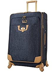 Nicole Miller Paige Collection 24 Expandable Luggage Spinner