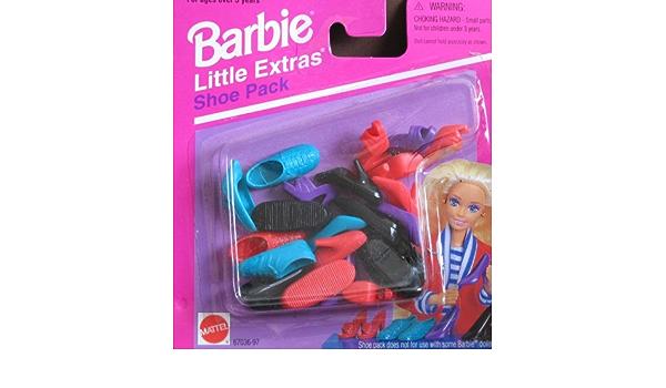 Barbie Little Extras So Many Shoes 1994//1995 Mattel Original Package