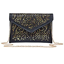 Women's Sequins Envelop Handbag