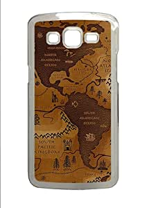 Samsung Galaxy Grand 2 7106 Cases & Covers -World Map Custom PC Hard Case Cover for Samsung Galaxy Grand 2 7106¨C Transparent