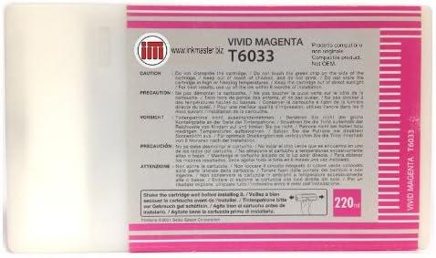 Ink Master - Cartucho remanufacturado EPSON T6033 Vivid Magenta T6033 para Epson Stylus Pro 7880 9880: Amazon.es: Electrónica