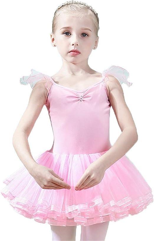 Faldas de danza para niña, Little Big Girls Camisa de algodón sin ...