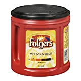 Folgers Mountain Roast Ground Coffee 975 Grams