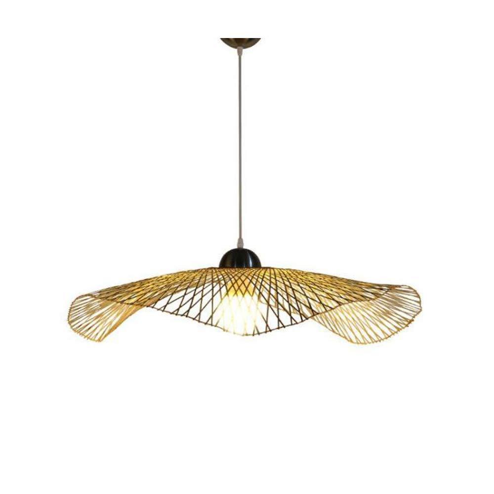 GHH Bambus Kunst Kronleuchter Moderne Minimalistische Esszimmer Lampe Kreative Persönlichkeit Restaurant Tee Raum Dekoration Engineering Lampe,45Cm