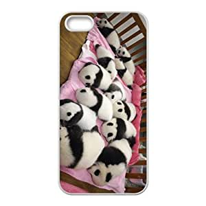 The Panda Babies Hight Quality Plastic Case for Iphone 5s