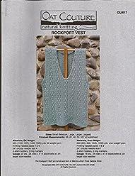 Oat Couture Knitting Pattern #GU418 Heavenly Jacket for Women Easy Knit