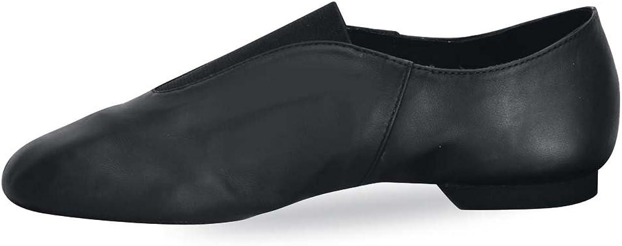 Danshuz Value Jazz Shoe for Adult Sizes Black /& Tan New