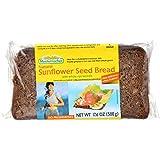 Mestemacher Natural Sunflower Seed Bread  - High Fiber- Kosher - 17.6 Ounce - Case of 12