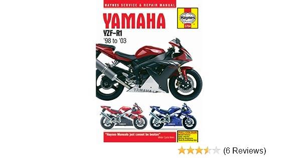 yamaha yzfr1 yzf r1 1999 repair service manual