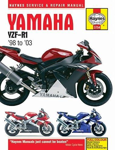haynes superbike hardback yamaha yzf r1 98 03 haynes service rh amazon com Yamaha Motorcycle Owners Manual Yamaha Motorcycle Repair Manuals