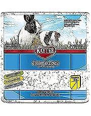 Kaytee Clean & Cozy Super Absorberend papieren beddengoed voor kooien, hamster, gerbil, muizen, konijn, cavia, 12,3 liter, wit