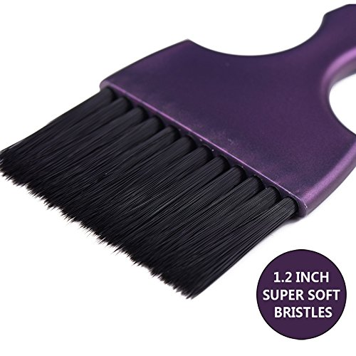 Hair Dye Coloring Brushes Kit Color Applicator Tint Brush-6 Pieces by Perfehair (Image #3)