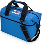 AO Coolers Canvas Soft Cooler with High-Density Insulation, Royal Blue, 36-Can