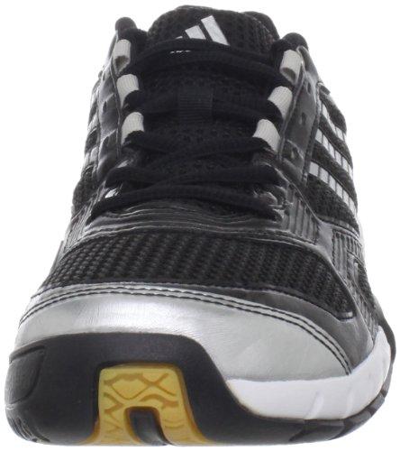 free shipping exclusive cheap finishline adidas Women's Opticourt VB 8.5 Volleyball Shoe Black/Metallic Silver uar2RsT0
