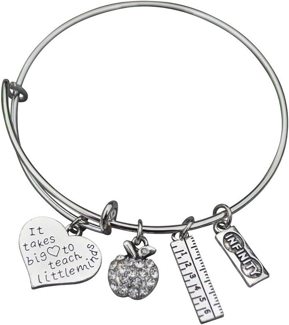 Infinity Collection Teacher Bracelet, Teacher Jewelry, Teacher Gift - Show Your Teacher Appreciation