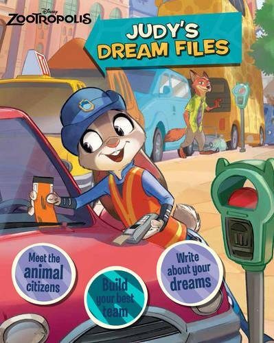Disney Zootropolis Judy's Dream Files PDF