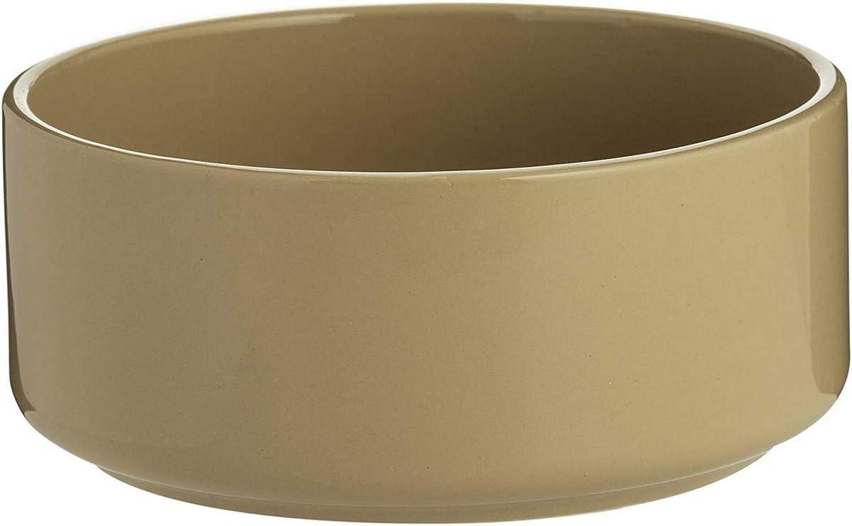 Mason Cash Cane Ceramic Dog Bowl, 7-Inch, Plain