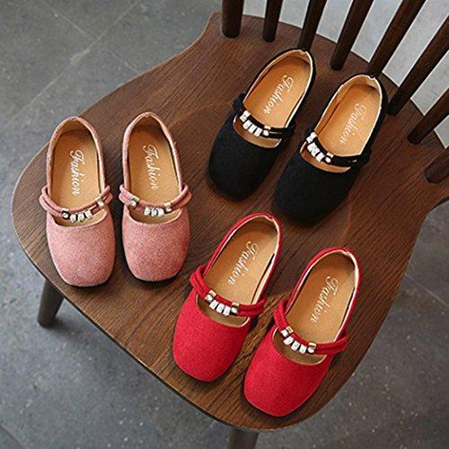Prevently Mädchen Kinderschuhe Schleudern Weiche Untere Schuhe Schuhe Baby Mode Sneaker Kind Mädchen Casual Single Leder Prinzessin Schuhe Schwarz