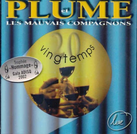Vingtemps (Live) Plume Latraverse Distribution Select (Music) 55490191325_DSELECT_US Francais