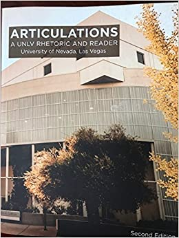 Articulations A Unlv Rhetoric And Reader 9780393622652 Amazon Com Books University bookstore is proud to offer you the most competitive shipping rates. articulations a unlv rhetoric and