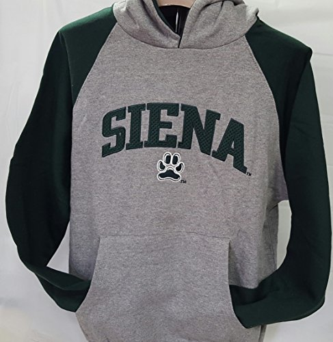 New! Siena College Embroidered Pullover Hoodie Size YL (14-16)