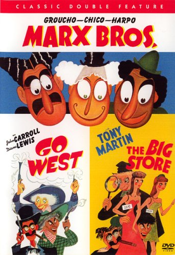 Classic Double Feature Groucho-Chico-Harpo Marx Bros. Go West The Big - West Stores Valley