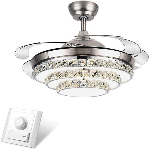 Ventilador de techo con luz Silencioso Ventilador de Techo ...