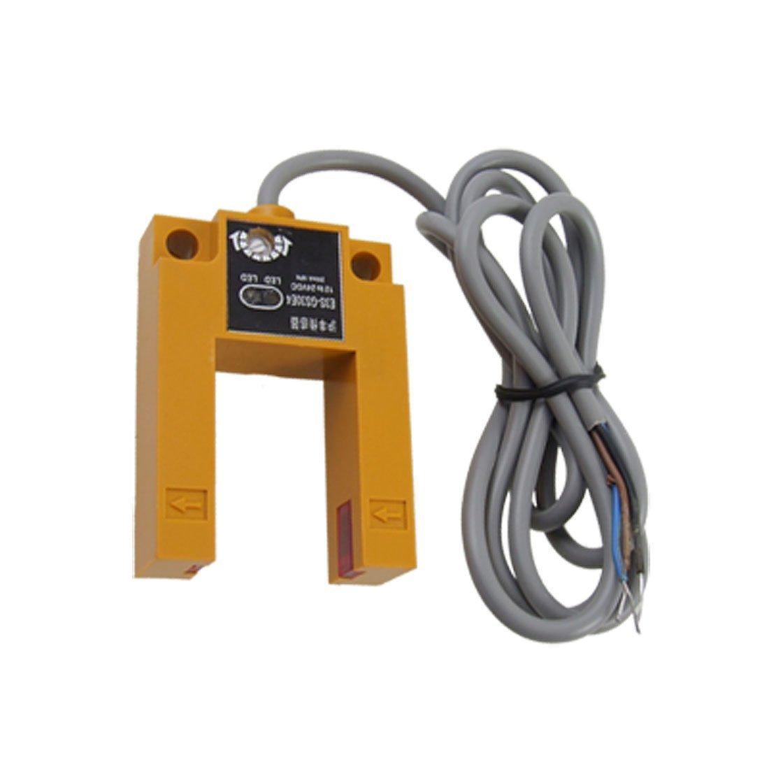 Baomain Photoelectric Switch Sensor E3S-GS30E4 Diffuse Groove Shap