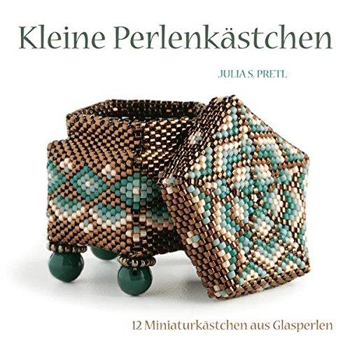 Kleine Perlenkästchen: 12 Miniaturkästchen aus Glasperlen
