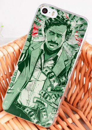 coque iphone 8 pablo escobar