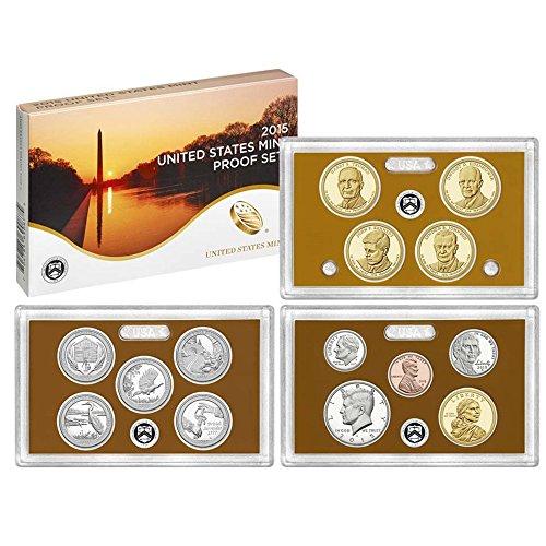 Mint Clad Us - 2015 S US Mint Proof Set Clad Gem Uncirculated