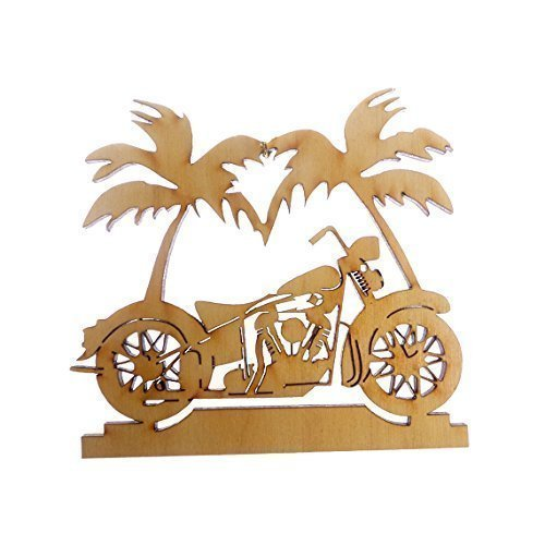 amazon com personalized motorcycle ornament palm tree motorcycle