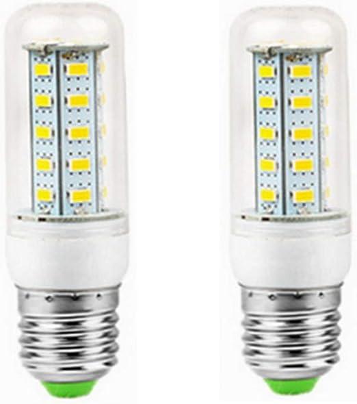 WELSUN 12V Bombillas LED E27, Baja tensión 12-80v, 6W Bombilla ...