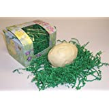 Scott's Cakes 1/2 Pound Butter Cream Center Filled Easter Egg Covered in White Chocolate