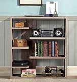 Homestar 6-Shelf Storage Bookcase in Reclaimed Wood