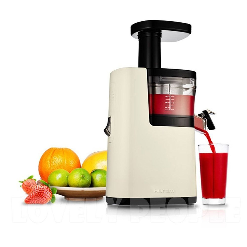 New 2015 Hurom Plus Slow Juicer Extractor Fruit Vegetable Citrus Hq-ibf13