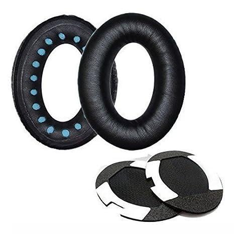 Almohadillas almohadillas de repuesto para Bose QuietComfort 35 qc35 inalámbrico auriculares almohadillas para auriculares/Ear